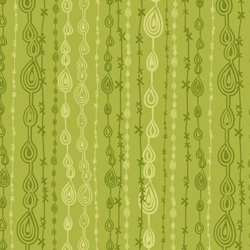 Anthology Fabrics - Flying Free Green