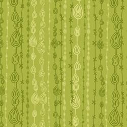 Anthology Fabrics - Flying Free Green