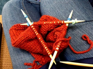 double pointed kneedles