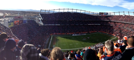 Mile High Broncos vs Browns