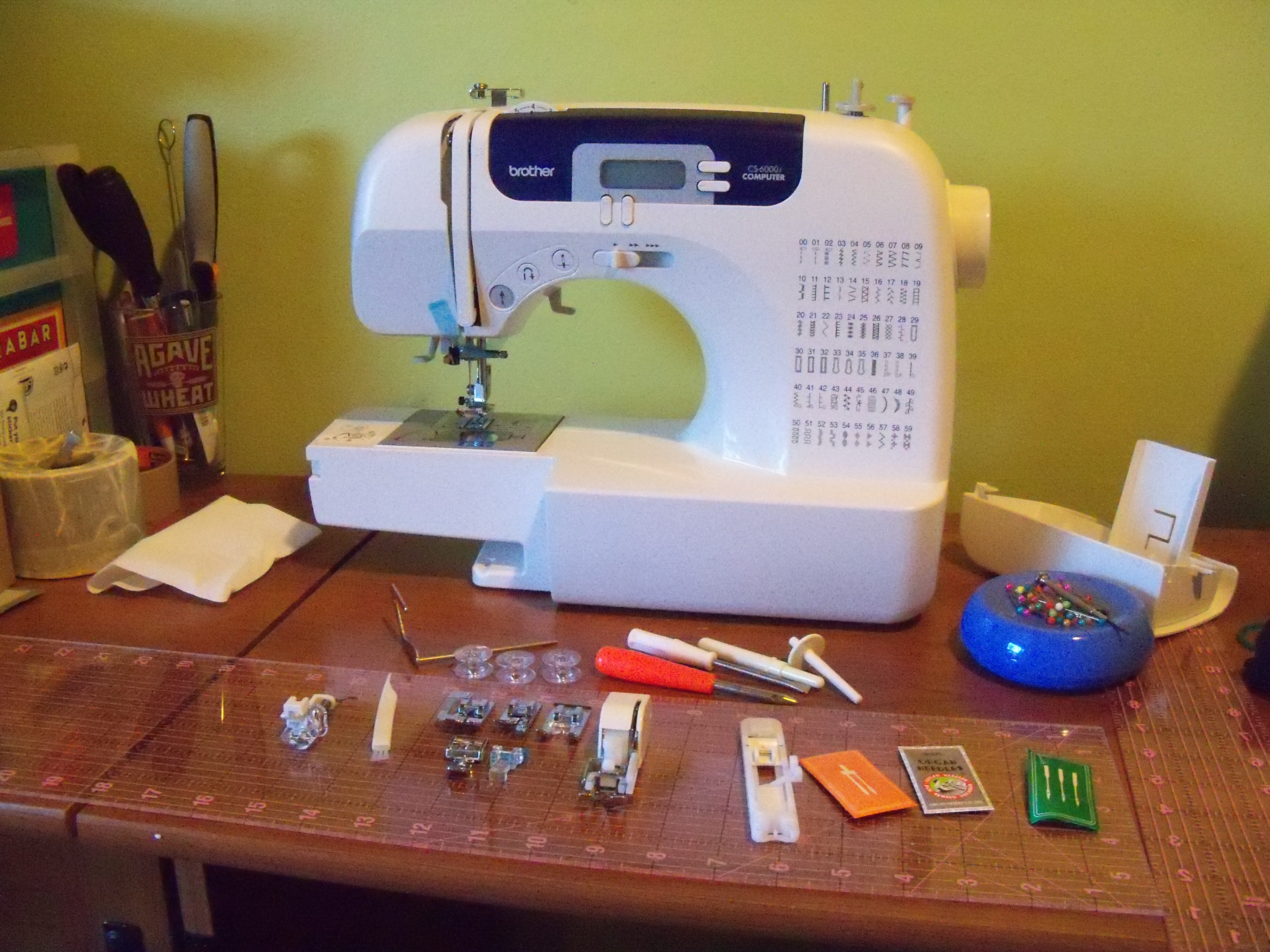 brothers 6000i sewing machine