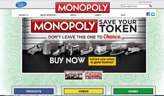 Monopoly's marketing ploy